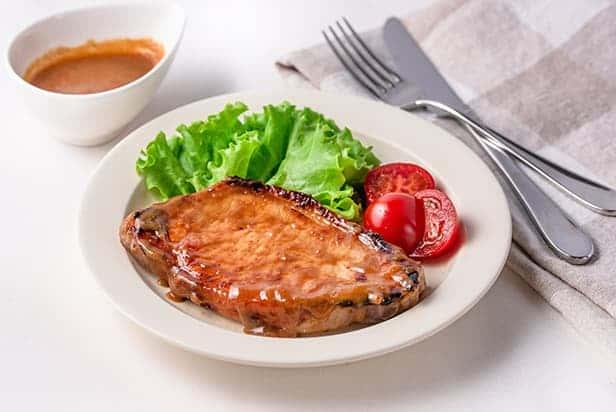 Grilled Miso Pork Loin