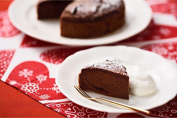 Not-Too-Sweet Koji Amazake Chocolate Cake