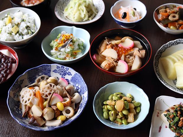 新潟県 新潟市  「のっぺ」と塩引鮭で始まるお正月