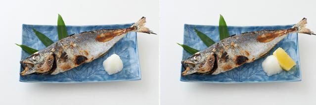 焼き魚 向き